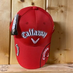 New Callaway Golf hat with ball marker